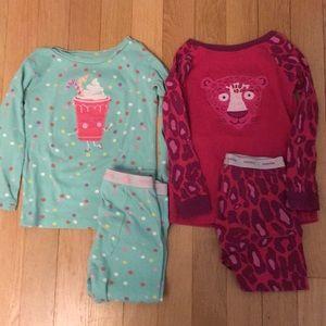 2 pairs of Gap pajamas